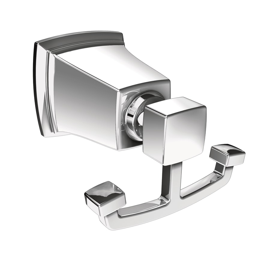 Moen Boardwalk 2-Hook Chrome Robe Hook