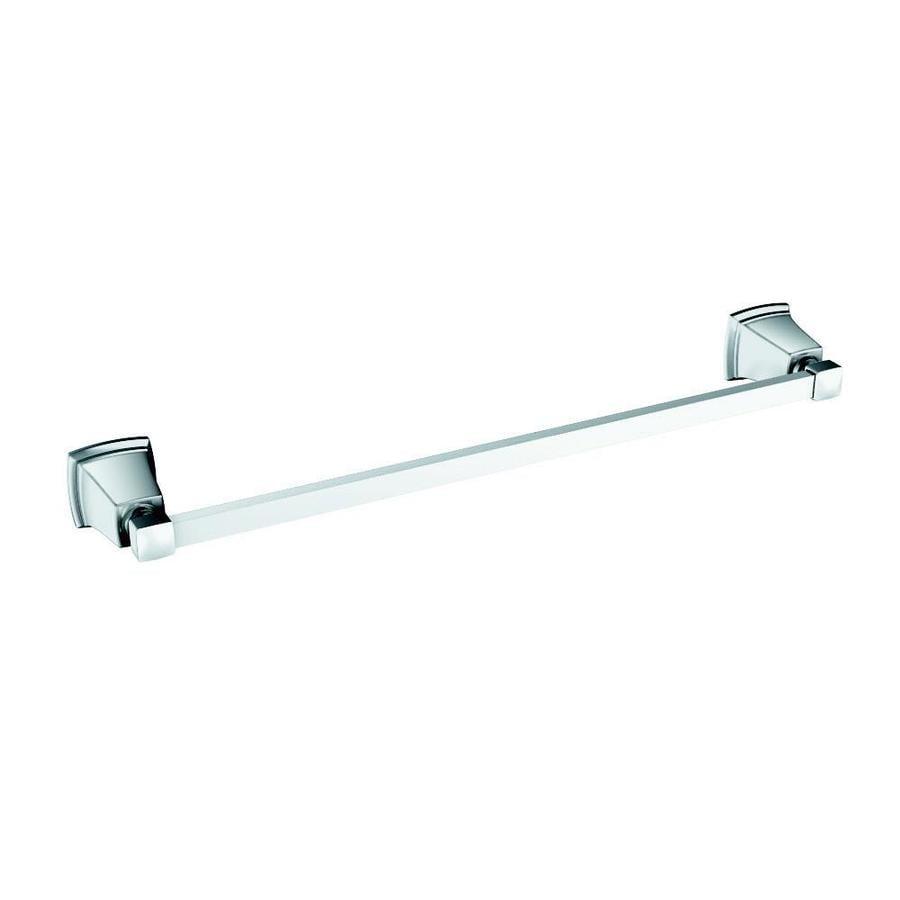 Moen Boardwalk Chrome Single Towel Bar (Common: 18-in; Actual: 20.06-in)