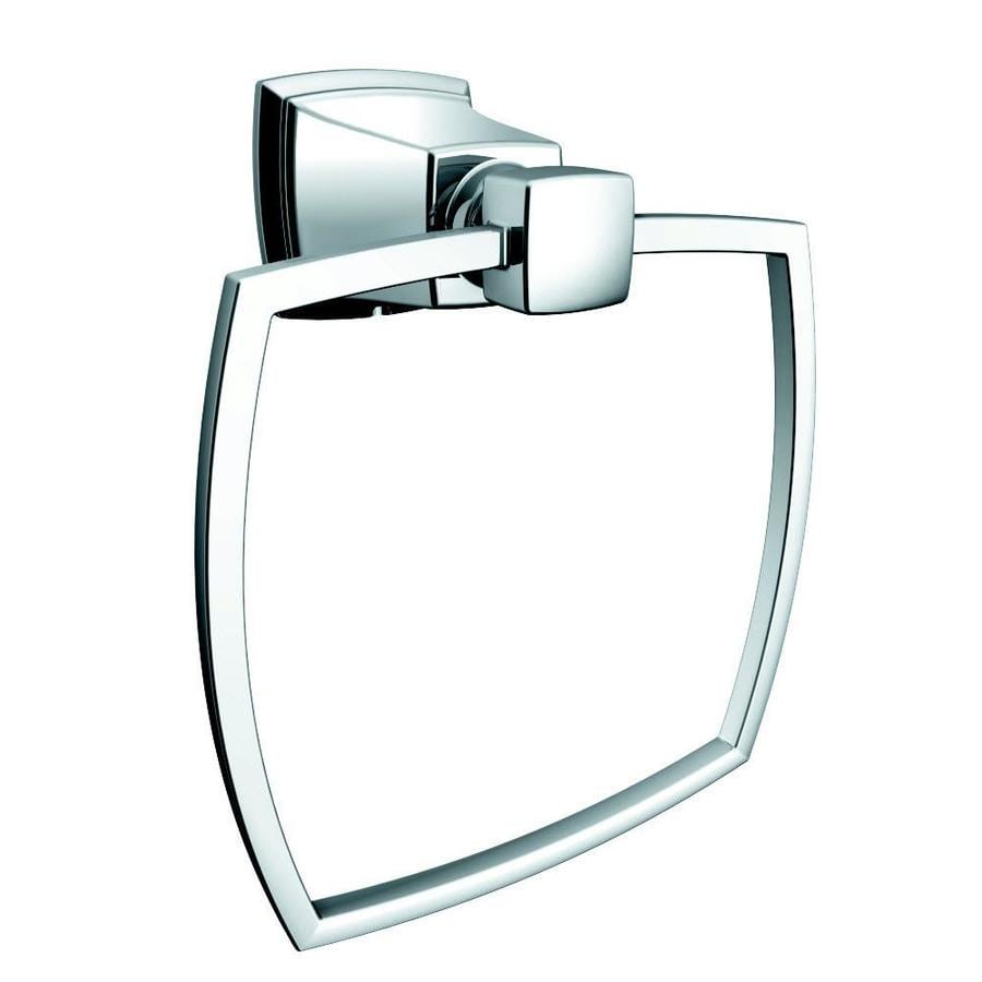 Moen Boardwalk Chrome Wall Mount Towel Ring