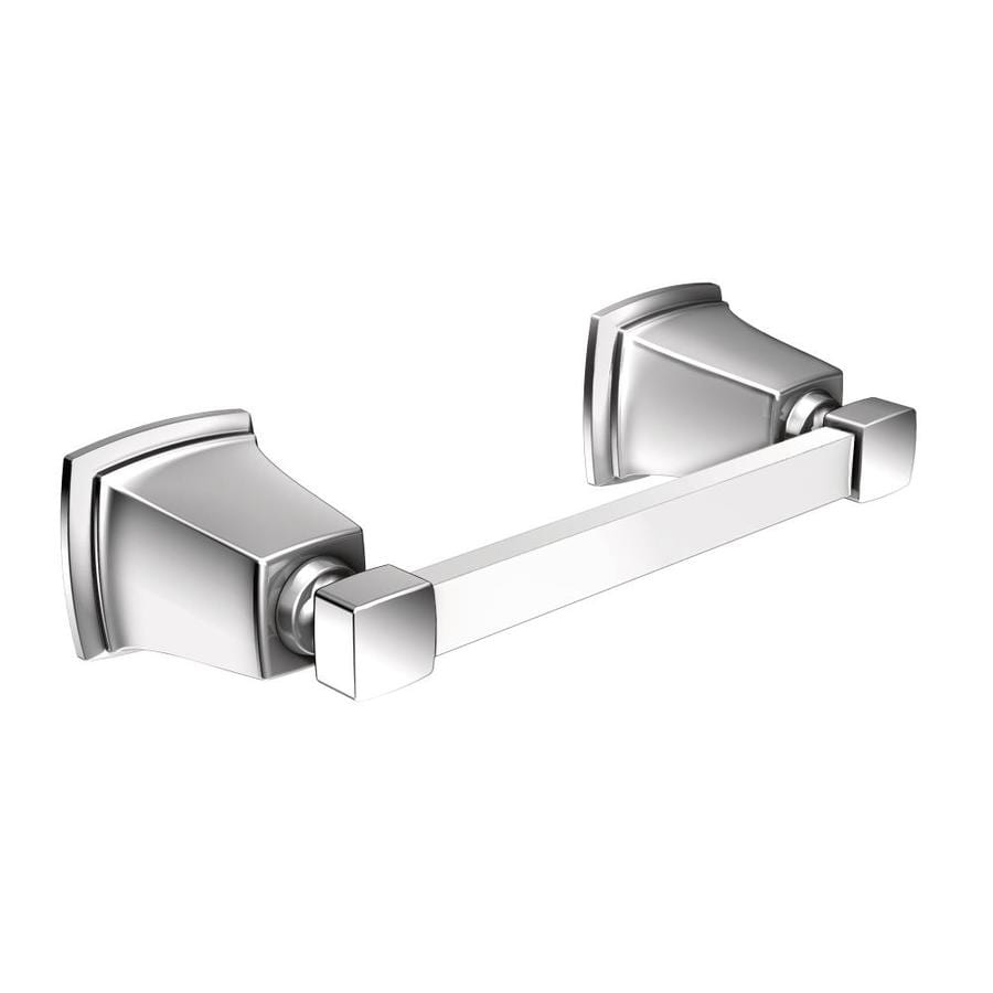 Shop Moen Boardwalk Chrome Surface Mount Toilet Paper