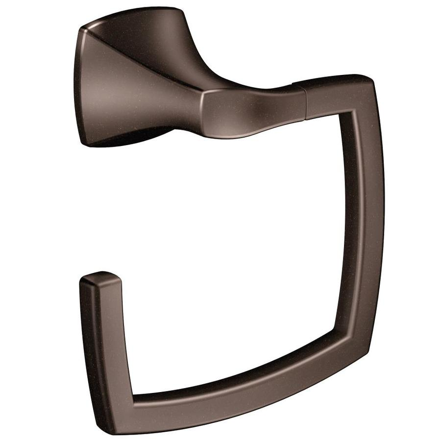Moen Voss Oil-Rubbed Bronze Wall Mount Towel Ring