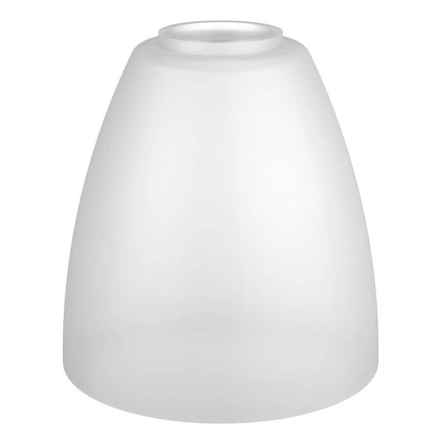 Moen Brantford 1-Light 5.27-in White/Frosted Globe Vanity Light
