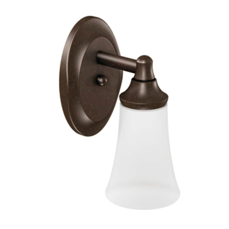 Shop Moen Eva 1 Light 4 45 In Oil Rubbed Bronze Globe