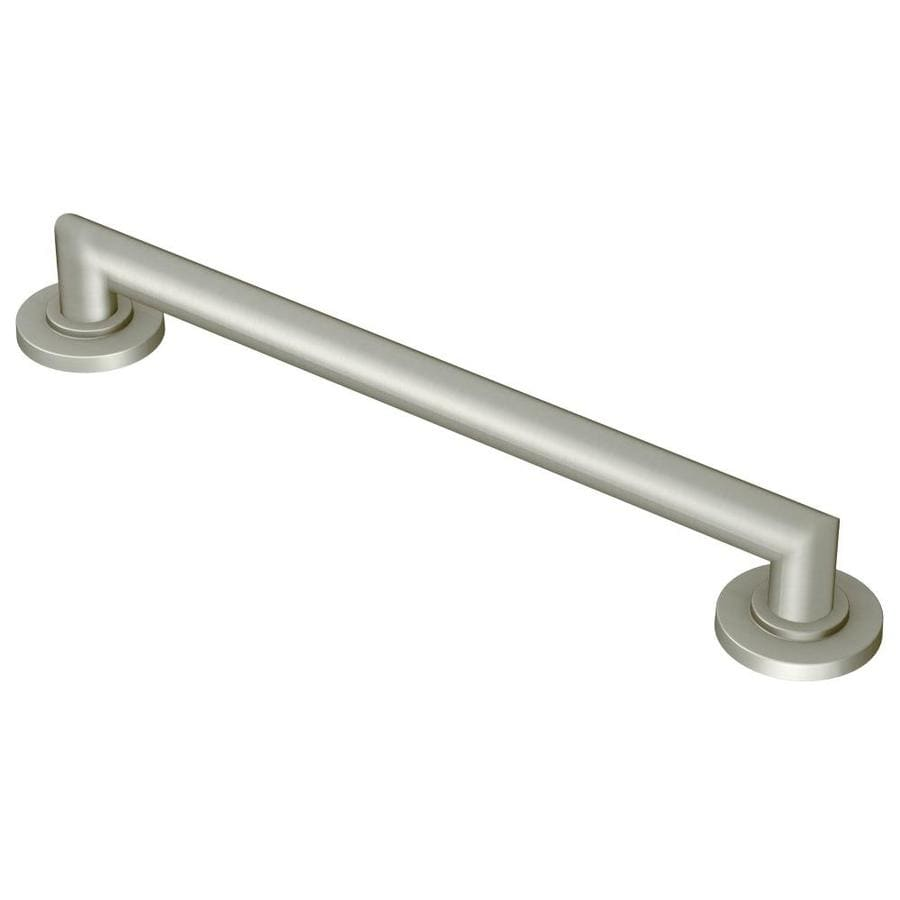 Moen 42-in Brushed Nickel Wall Mount Grab Bar
