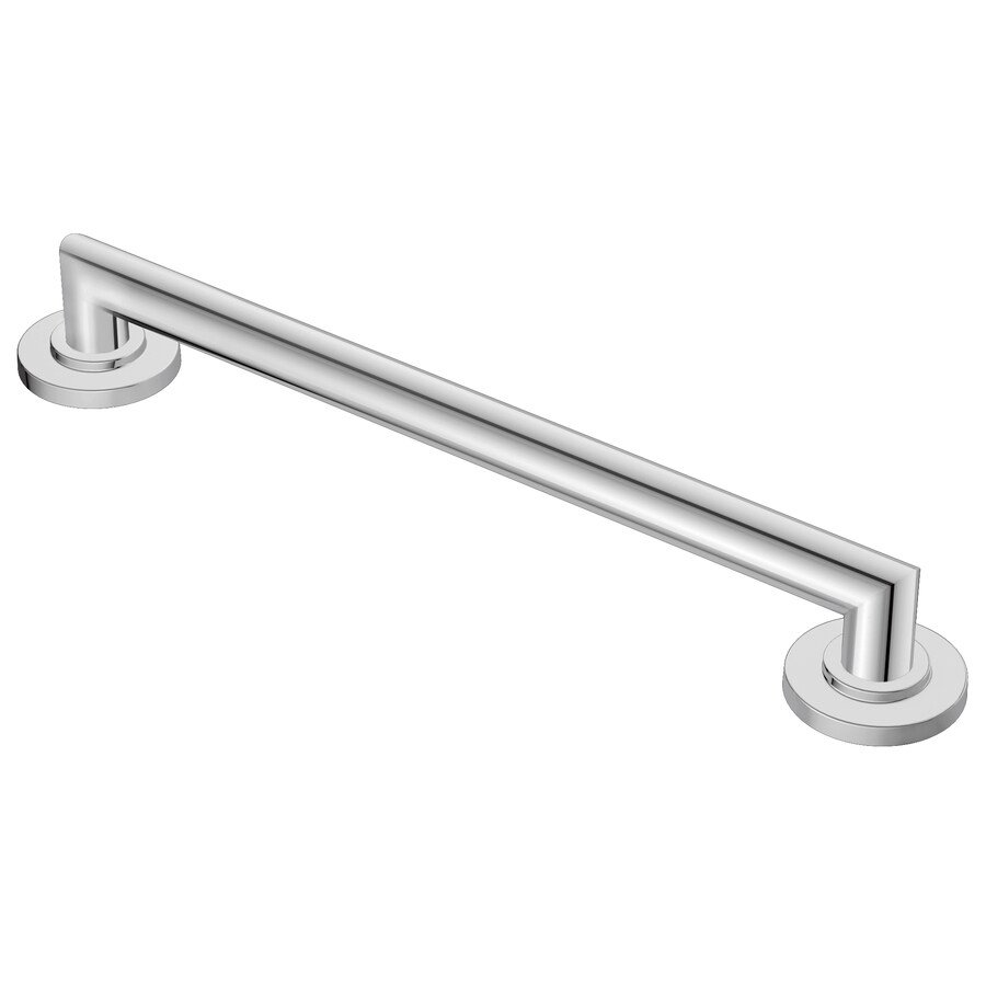 Moen 42-in Chrome Wall Mount Grab Bar