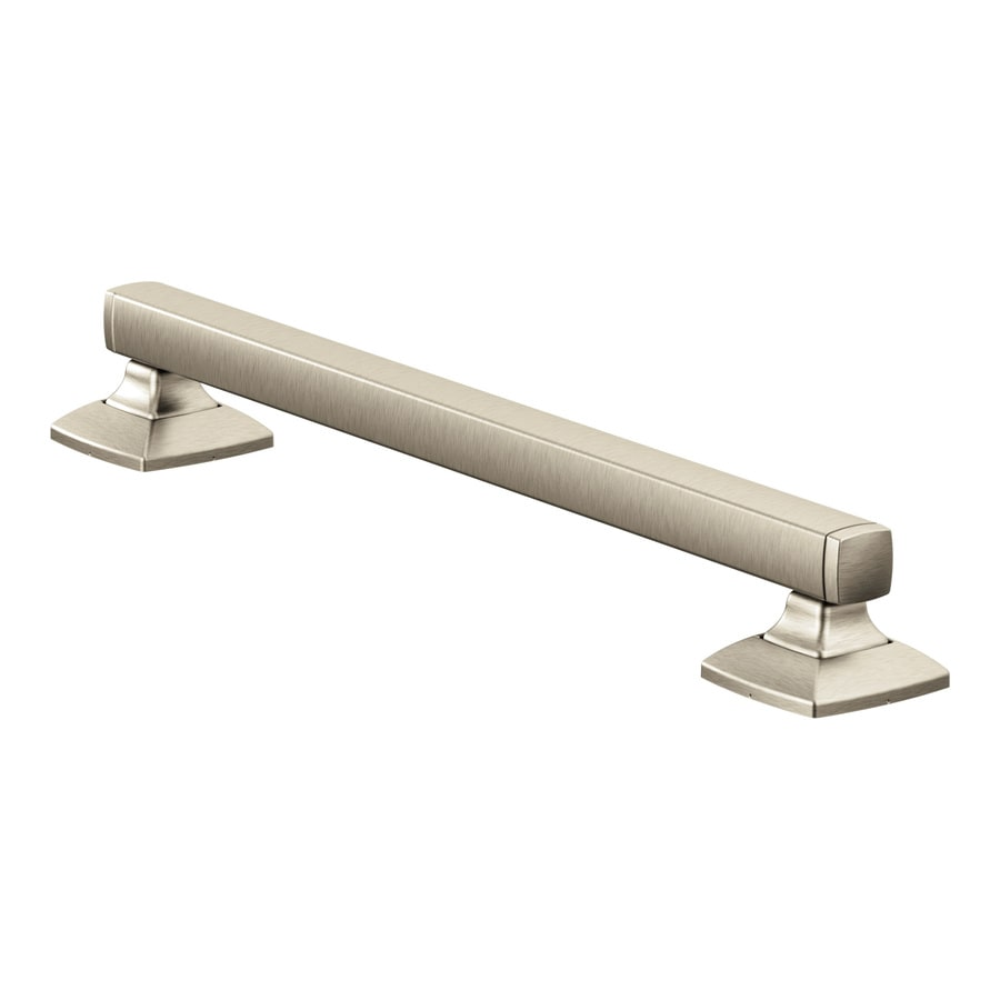 Moen Brushed Nickel Wall Mount Grab Bar At Lowescom