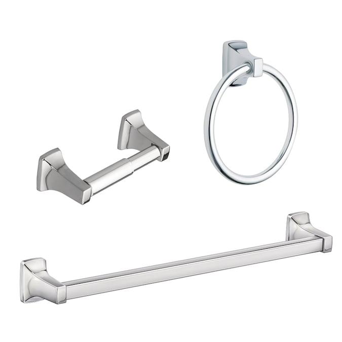 Chrome Decorative Bathroom Hardware Set