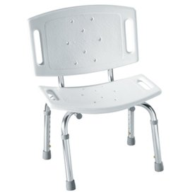 Moen Glacier Plastic Freestanding Shower Chair