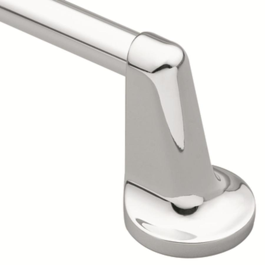 Moen Aspen Chrome Single Towel Bar (Common: 18-in; Actual: 27-in)