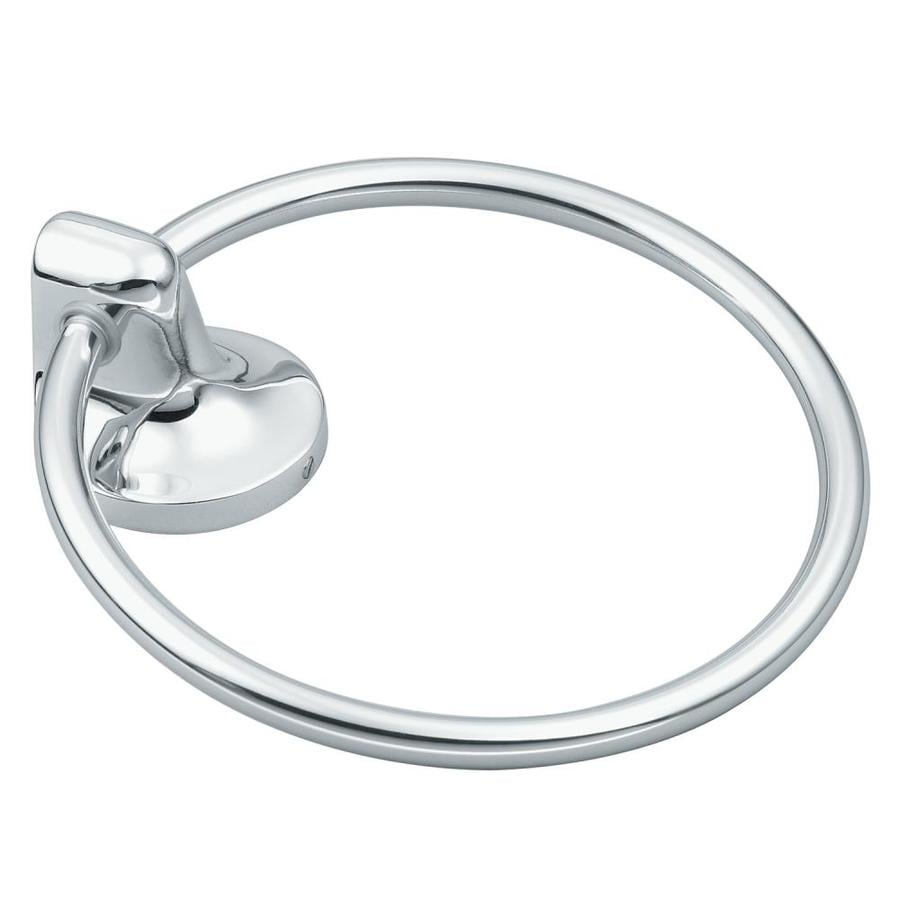 Moen Aspen Chrome Wall-Mount Towel Ring