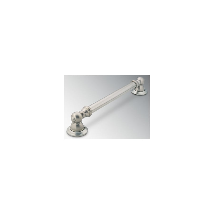 Moen 30-in Brushed Nickel Wall Mount Grab Bar