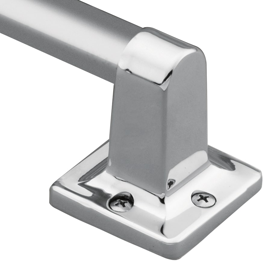 Shop Moen Home Care Chrome Wall Mount Grab Bar at Lowes.com