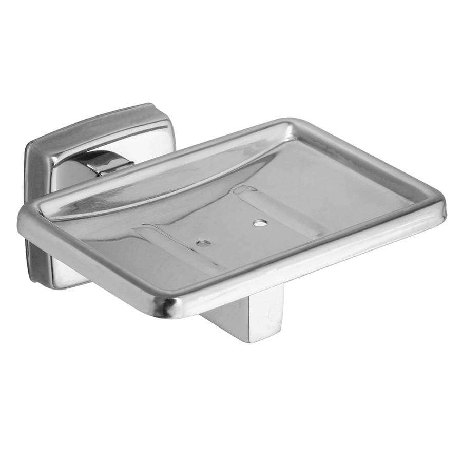 Shop Moen Stainless Steel Metal Soap Dish At Lowes Com