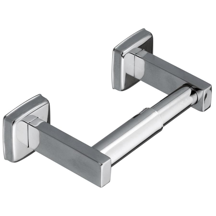 Moen Stainless Steel Stainless Steel Surface Mount Toilet Paper Holder