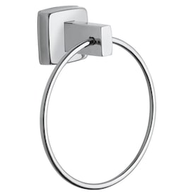 Fresca Ottimo Chrome Wall Mount Towel Ring In The Towel Rings Department At Lowes Com