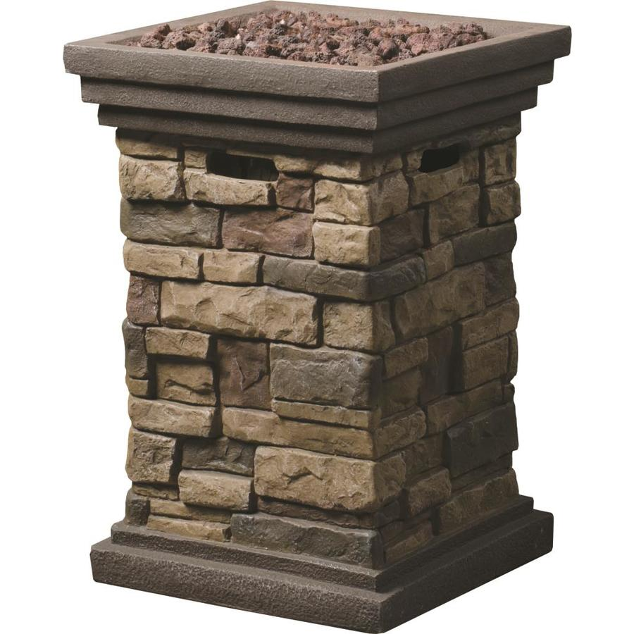 shop gas fire pits at lowes com rh lowes com Gel Fireplaces Lowe's lowes outdoor gas fire pit
