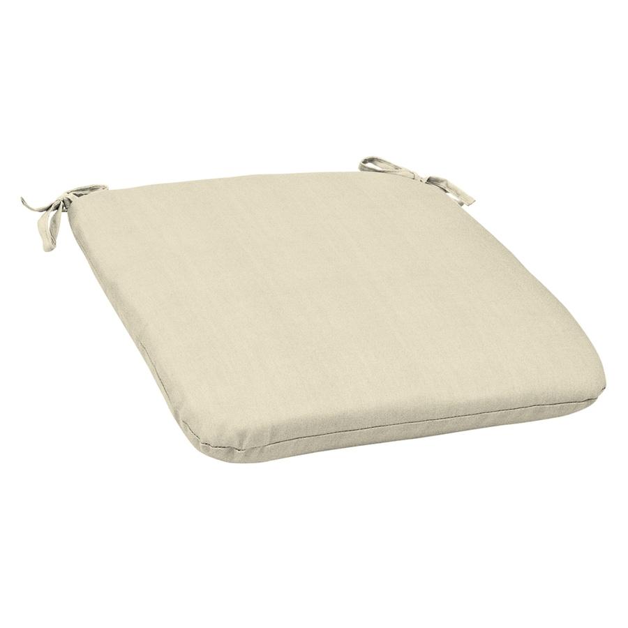 Sunbrella Sunbrella Canvas Solid Reversible Outdoor Seat Pad
