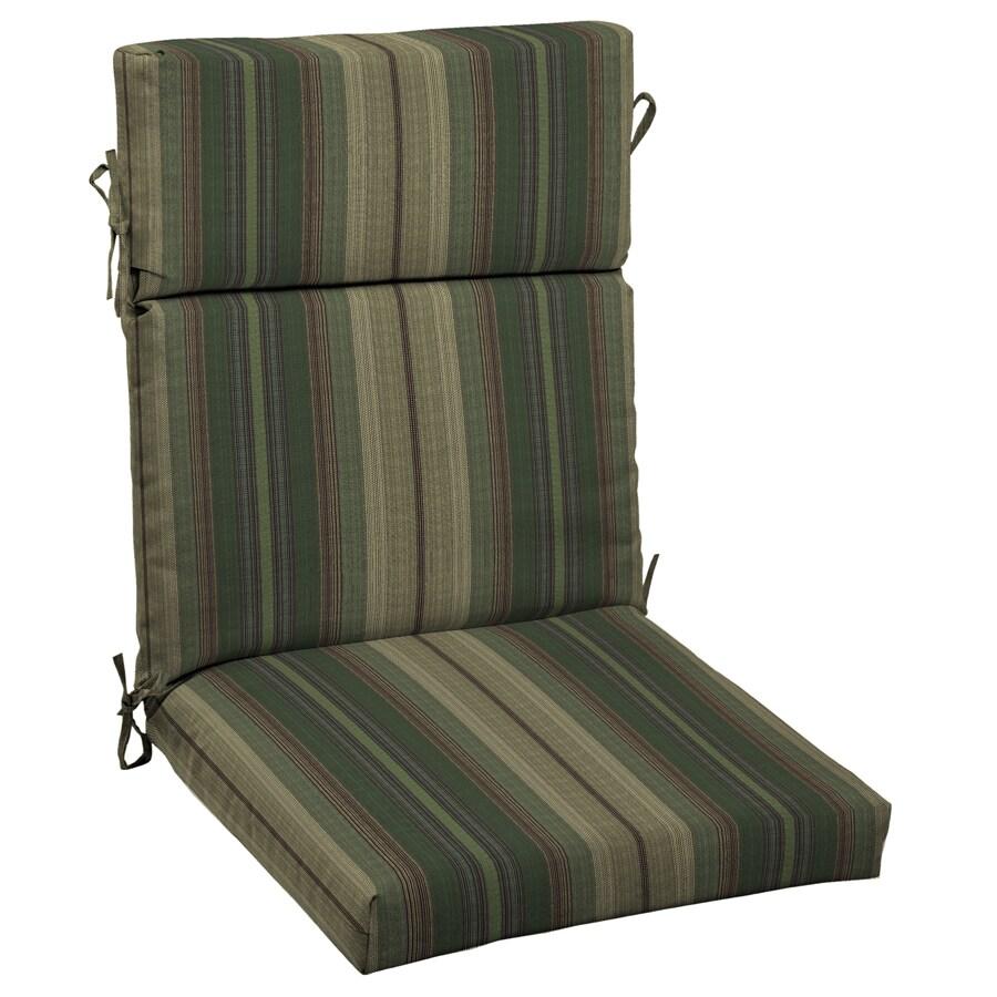 allen + roth Stripe Cushion For High-Back Chair