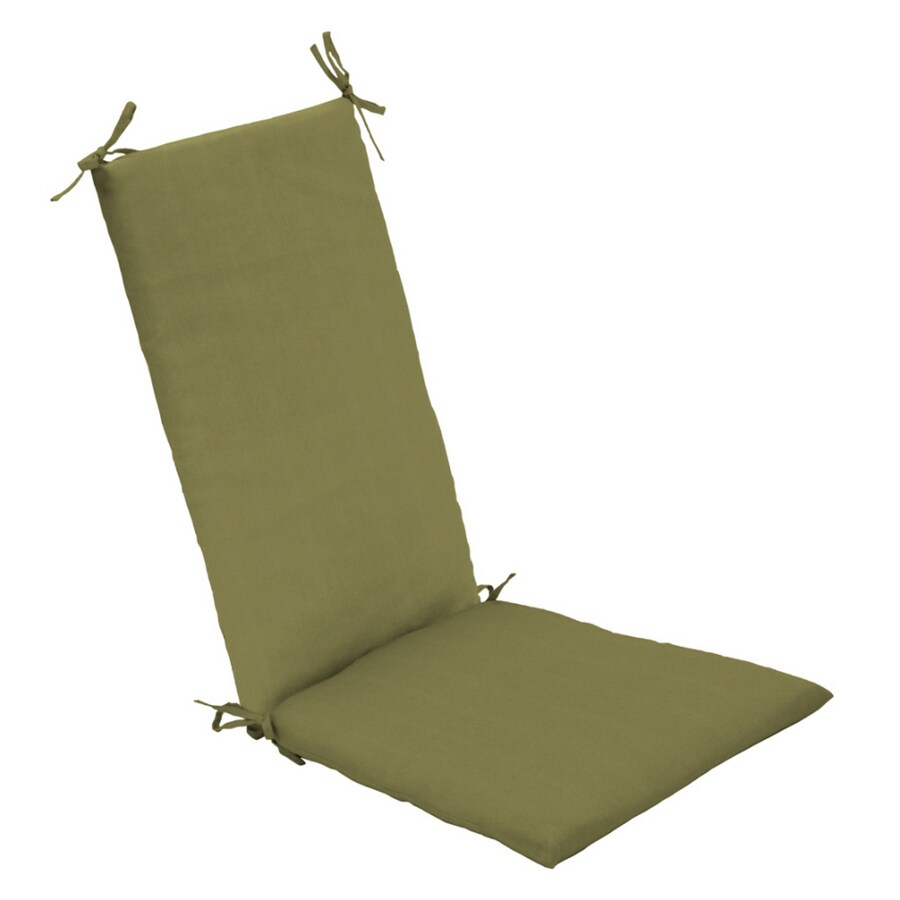 Arden Outdoor Solid Medium Green Rocking Chair Cushion Set
