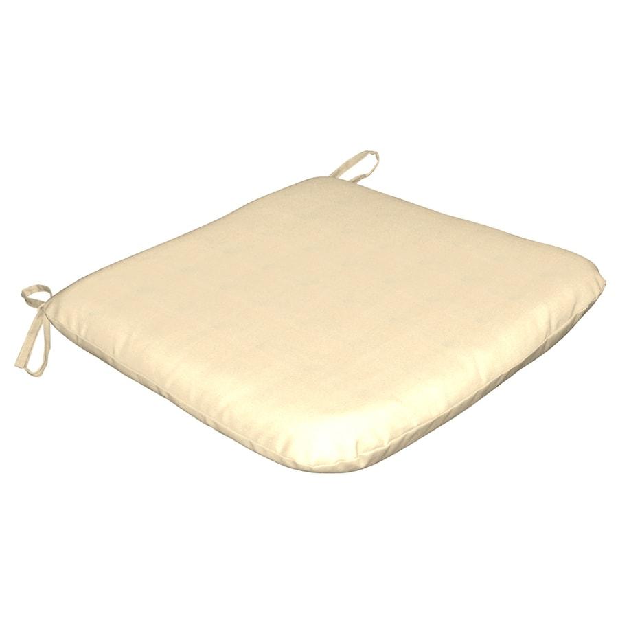 Arden Outdoor Canvas Solid Reversible Outdoor Seat Pad
