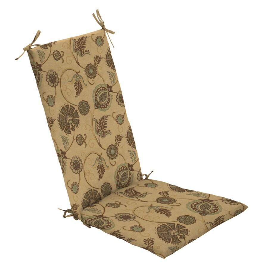 Arden Outdoor Sunbrella Cranston Floral Rocking Chair Cushion Set