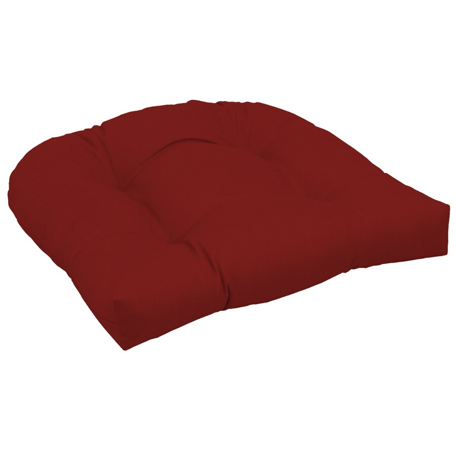 Garden Treasures Red Red Solid Cushion For Universal