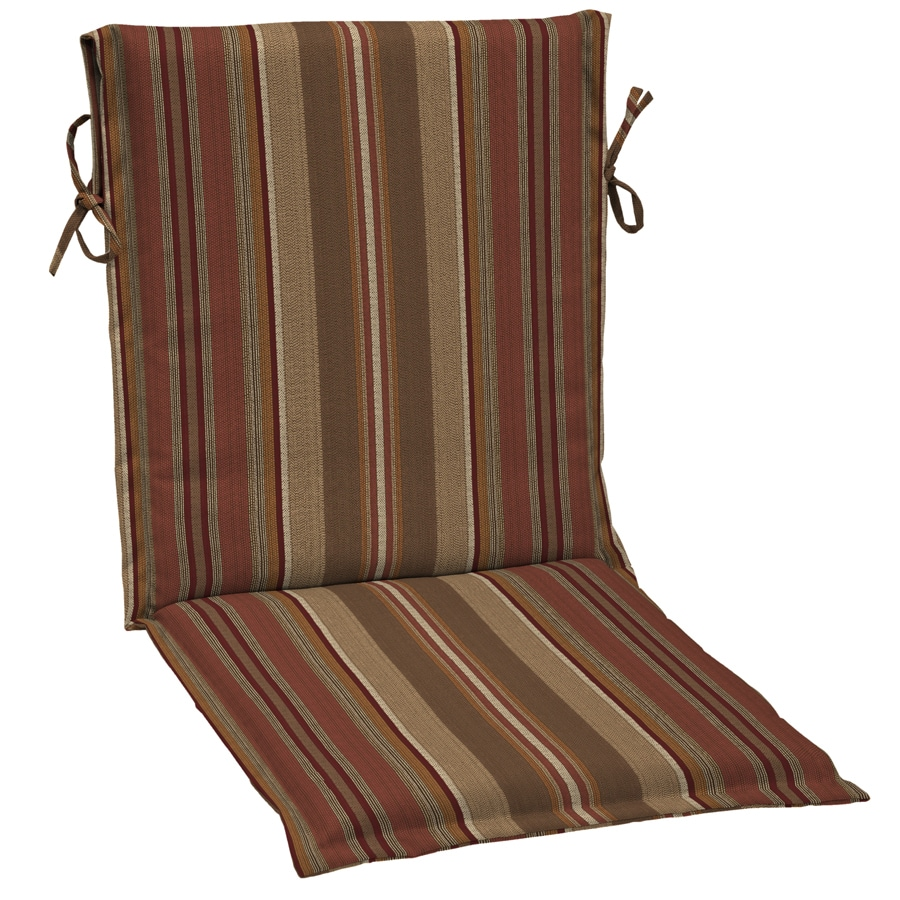 Genial Allen + Roth Stripe Cushion For Sling Chair