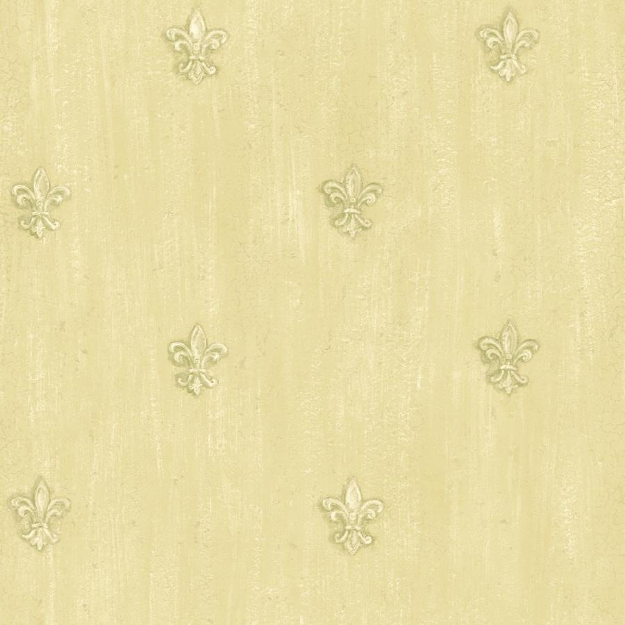 York Wallcoverings Fleur De Lis Wallpaper at Lowes.com
