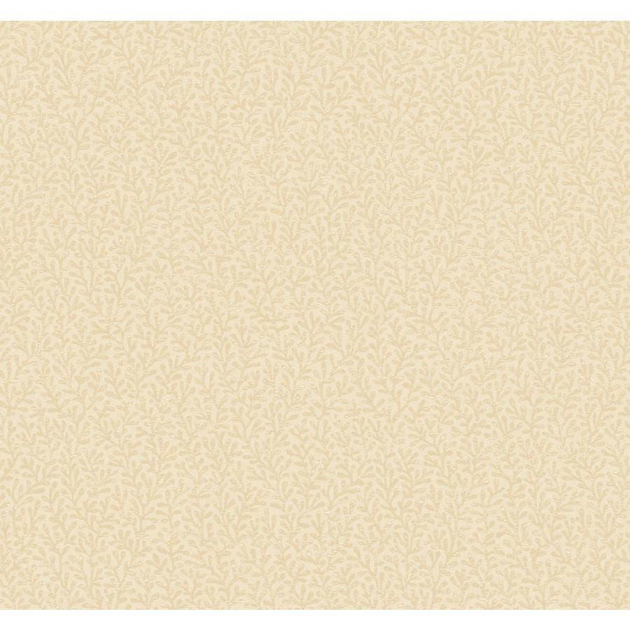 York Wallcoverings Beige Book Beige Paper Textured Ivy/Vines Wallpaper