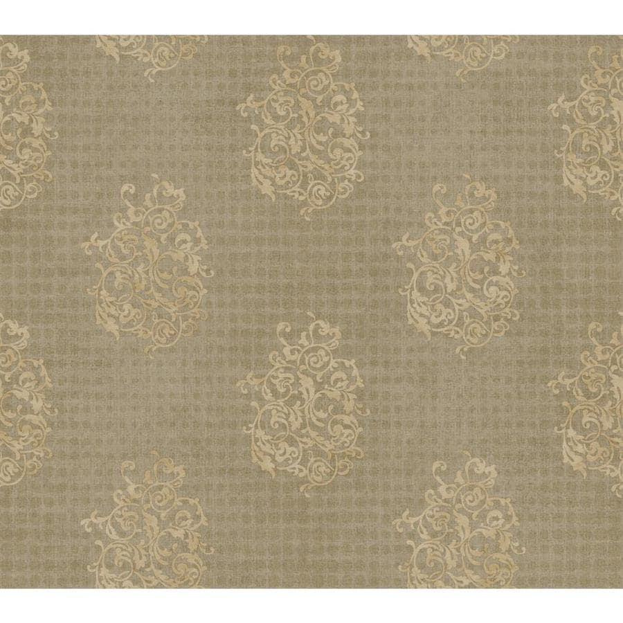 Inspired By Color Brown and Tan Paper Wallpaper