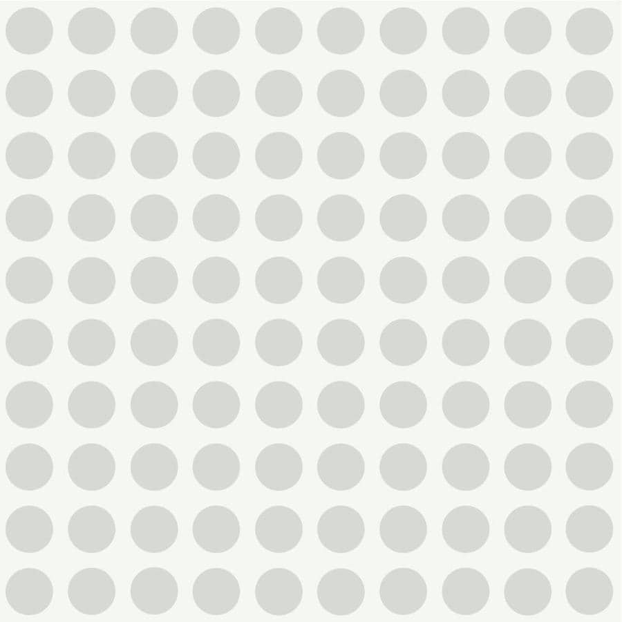 Inspired By Color Kids Book Gray Paper Polka Dot Wallpaper