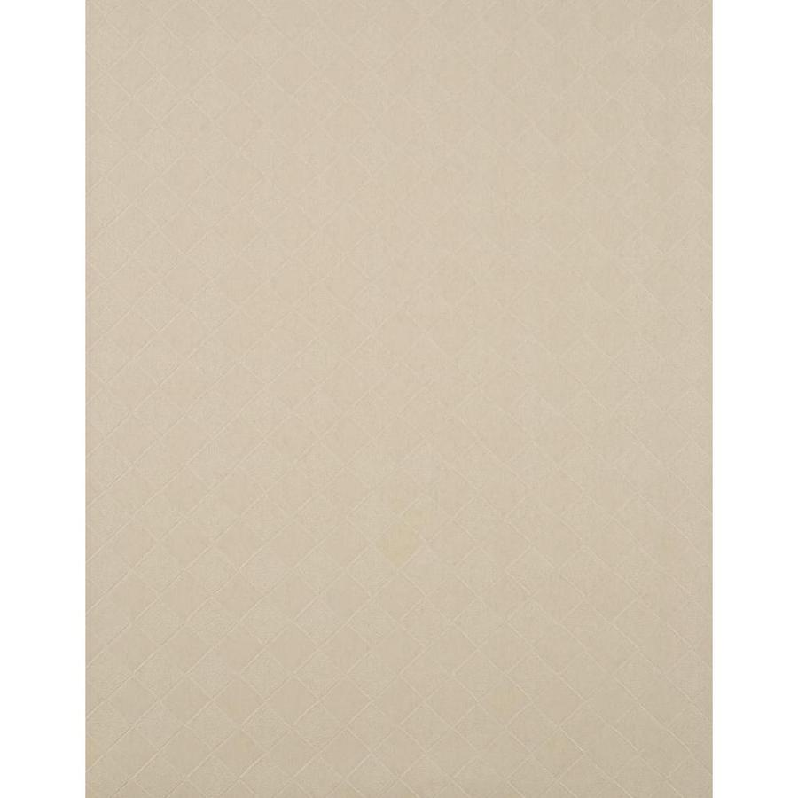 York Wallcoverings York Textures Light Tan Vinyl Textured Checks Wallpaper