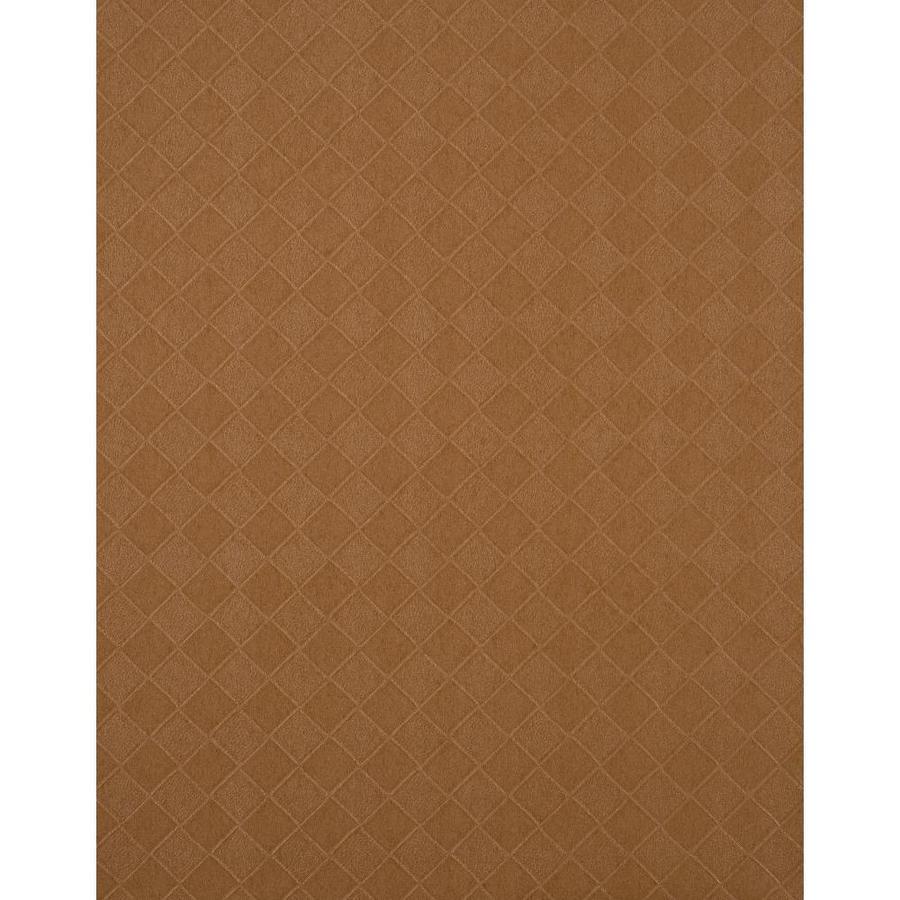 York Wallcoverings Cinnamon Brown Vinyl Wallpaper