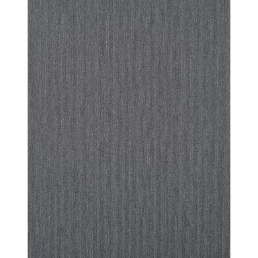 York Wallcoverings York Textures Dark Gray Vinyl Textured Solid Wallpaper