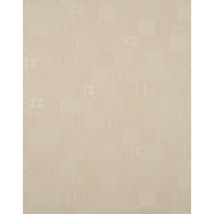 York Wallcoverings York Textures Beige Vinyl Textured Checks Wallpaper