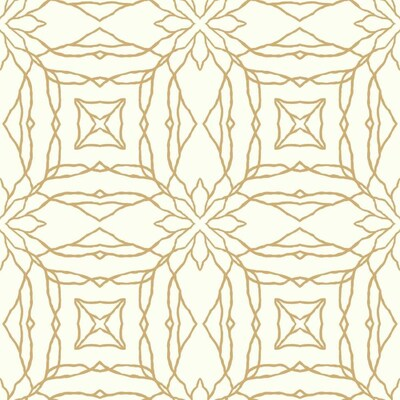 York Wallcoverings Pattern Play 56 Sq Ft Gold Paper
