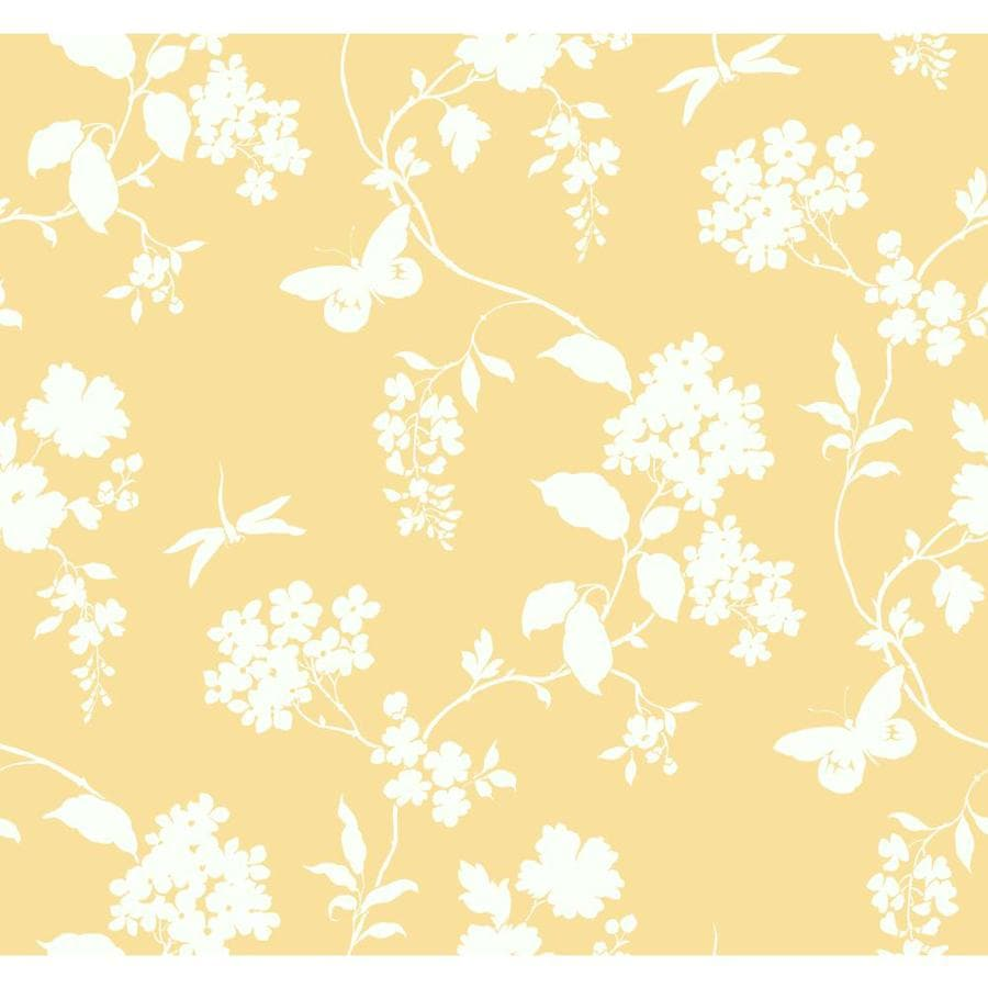 Inspired By Color Ashford Sihouettes Orange Paper Scenic Wallpaper