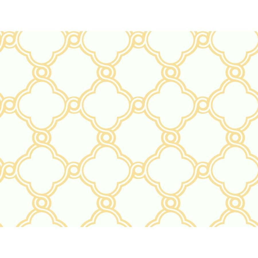 Inspired By Color Orange and White Paper Geometric Wallpaper