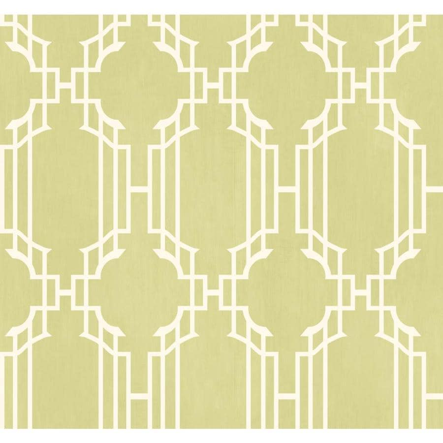 Inspired By Color Green Book Green and White Paper Geometric Wallpaper