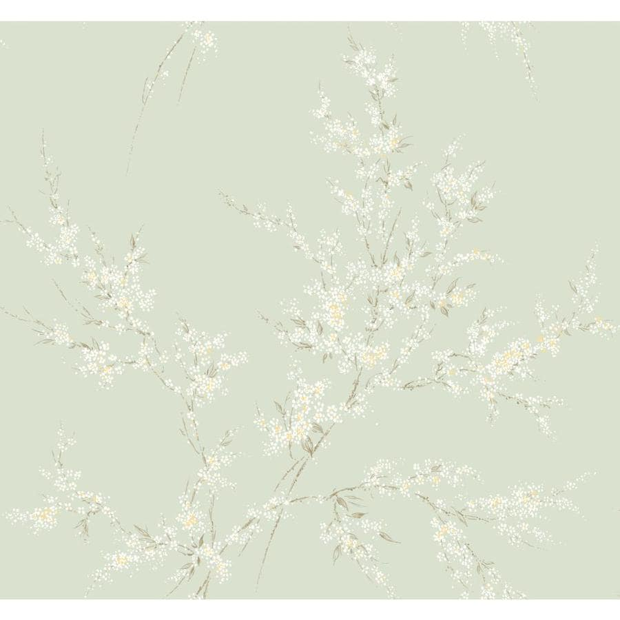 Inspired By Color Green Book Green Paper Textured Floral Wallpaper