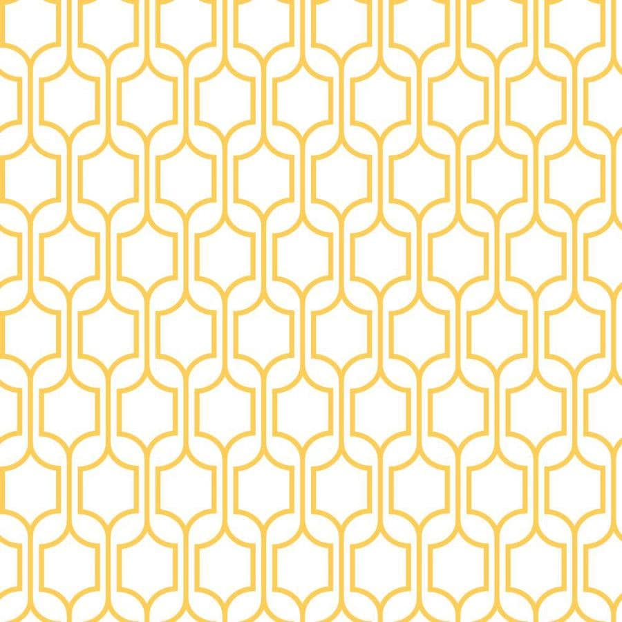 Inspired By Color Orange and Yellow Book Yellow and White Paper Geometric Wallpaper