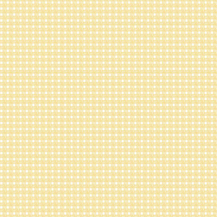 Inspired By Color Yellow and White Paper Checks Wallpaper