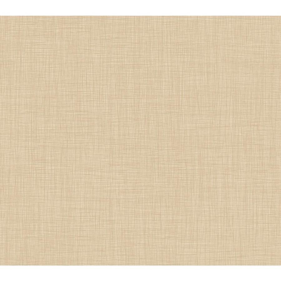 York Wallcoverings Beige Book Almond Paper Solid Wallpaper