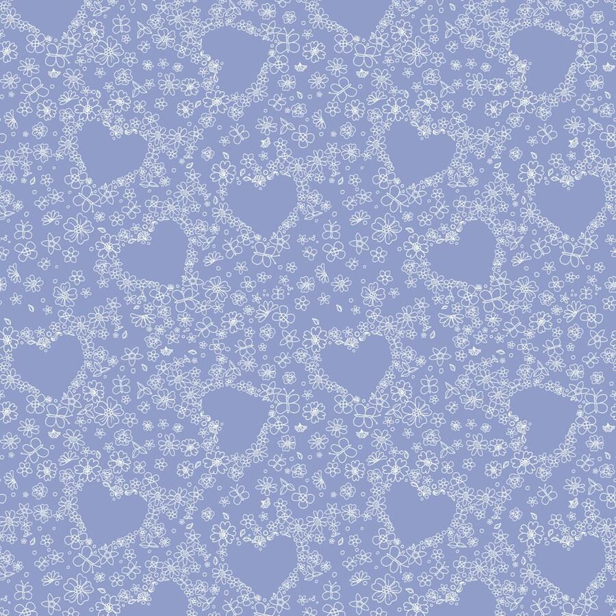 York Wallcoverings Disney Kids Purple Paper Geometric Wallpaper