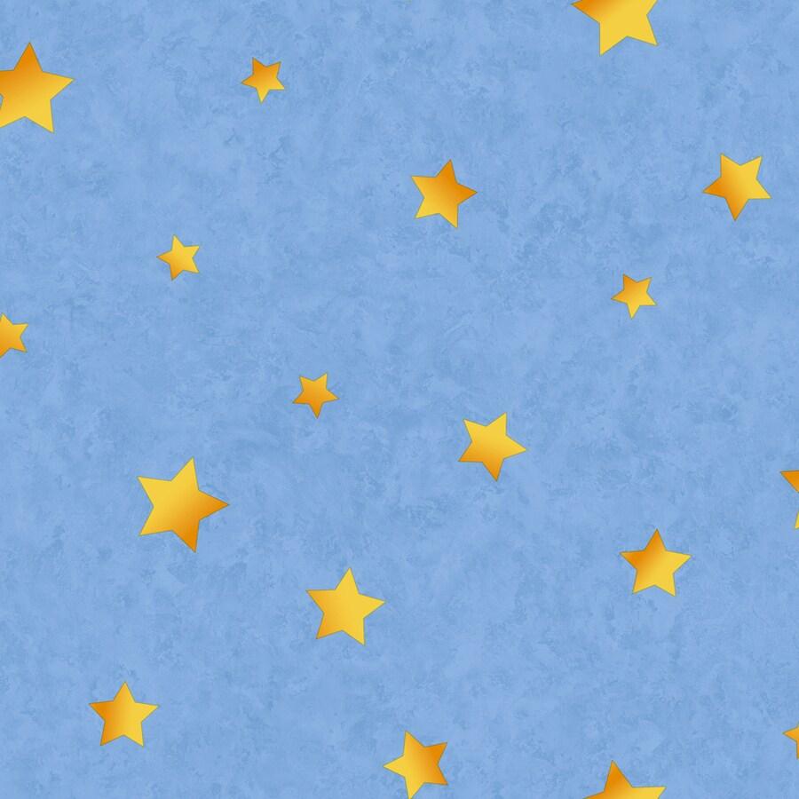 York Wallcoverings Blue Paper Wallpaper