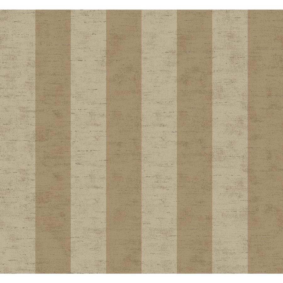 Inspired By Color Metallics Book Beige and Gold Paper Stripes Wallpaper