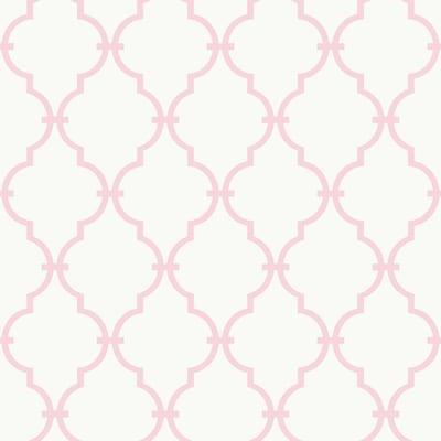 York Wallcoverings Room To Grow 56 Sq Ft Pink Paper