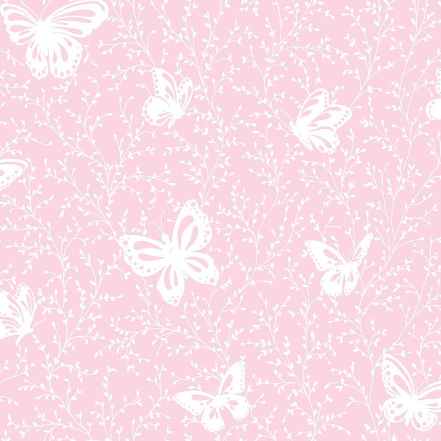 Inspired By Color Pink and White Paper Wallpaper