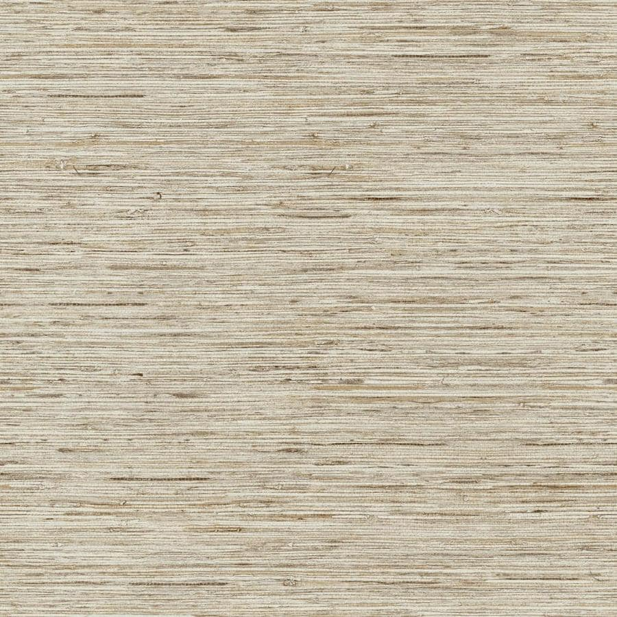 Grasscloth Wallpaper Peel And Stick: RoomMates RoomMates 28.2-sq Ft Grasscloth Peel And Stick