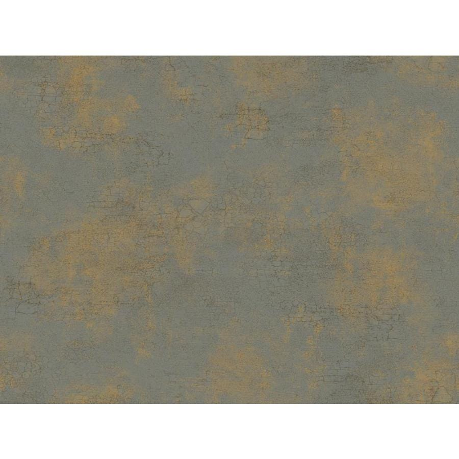 Inspired By Color Gold and Silver Paper Damask Wallpaper